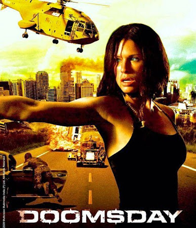 Poster Of Free Download Doomsday 2008 300MB Full Movie Hindi Dubbed 720P Bluray HD HEVC Small Size Pc Movie Only At worldfree4u.com