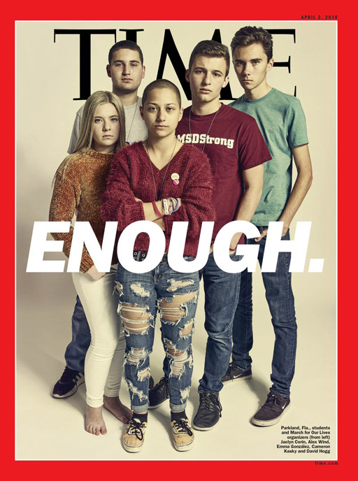 Image result for time mag parkland high students