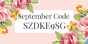 USE SEPTEMBER CODE WHEN SHOPPING