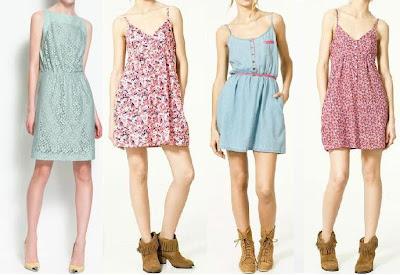vestidos claros 2012 zara