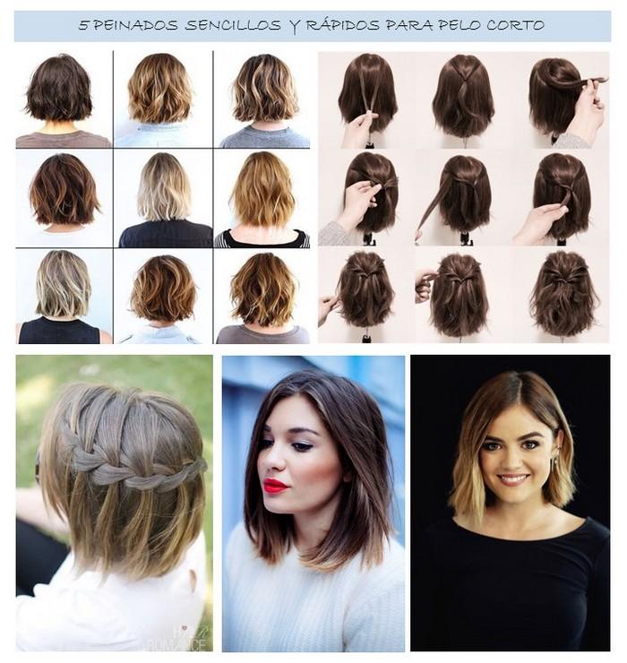 peinados-sencillos-para-pelo-corto