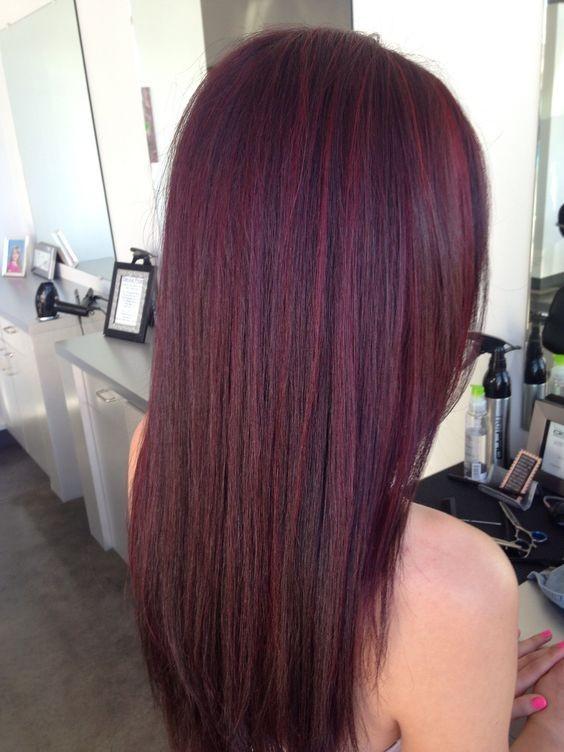 Mahogany Hair Color Inspiration Hairstyles Amp Hair Color