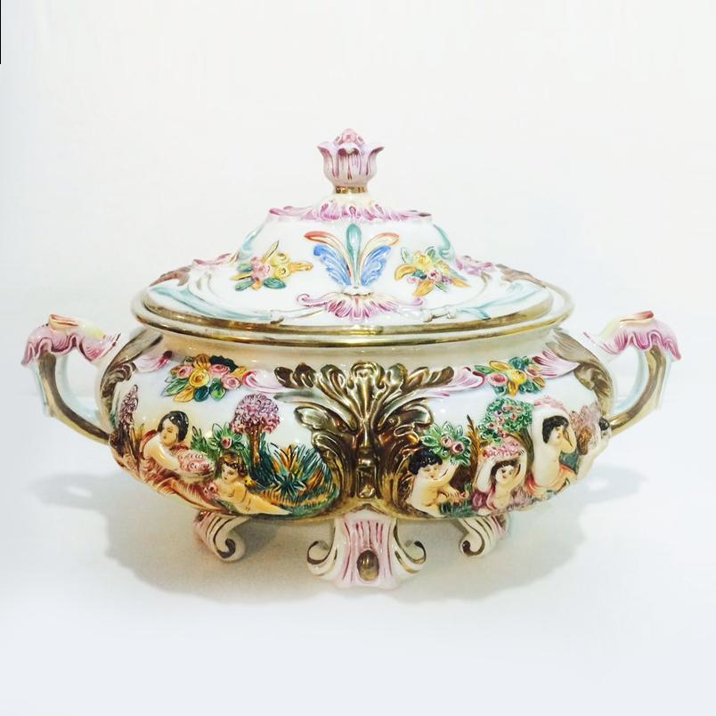 Brech charisma antiguidades for Porcelana italiana