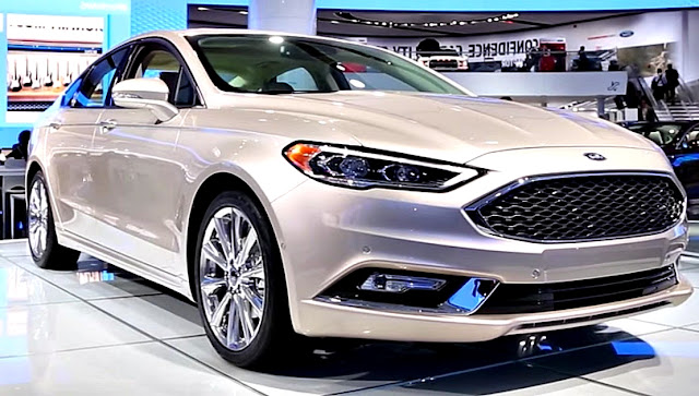 Ford Fusion 2017 front