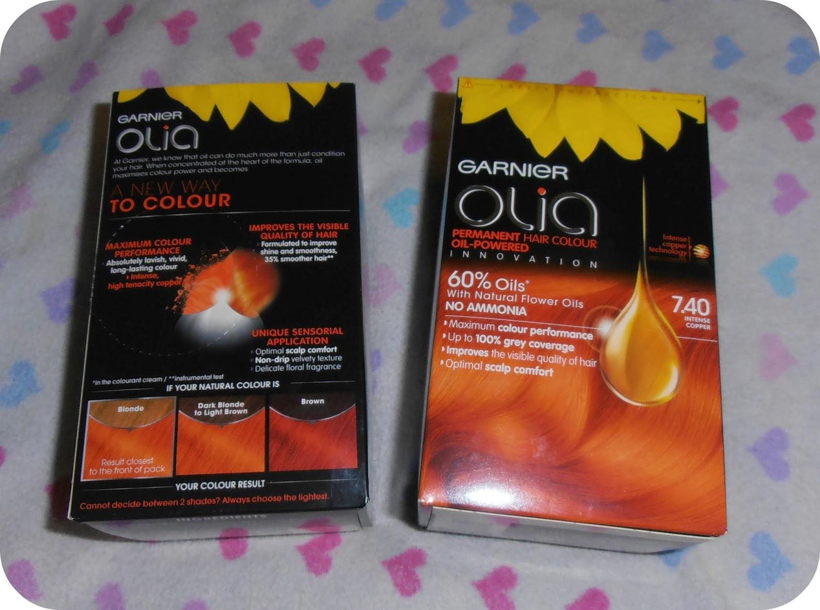 Shell Senseless Garnier Olia Permanent Hair Colour