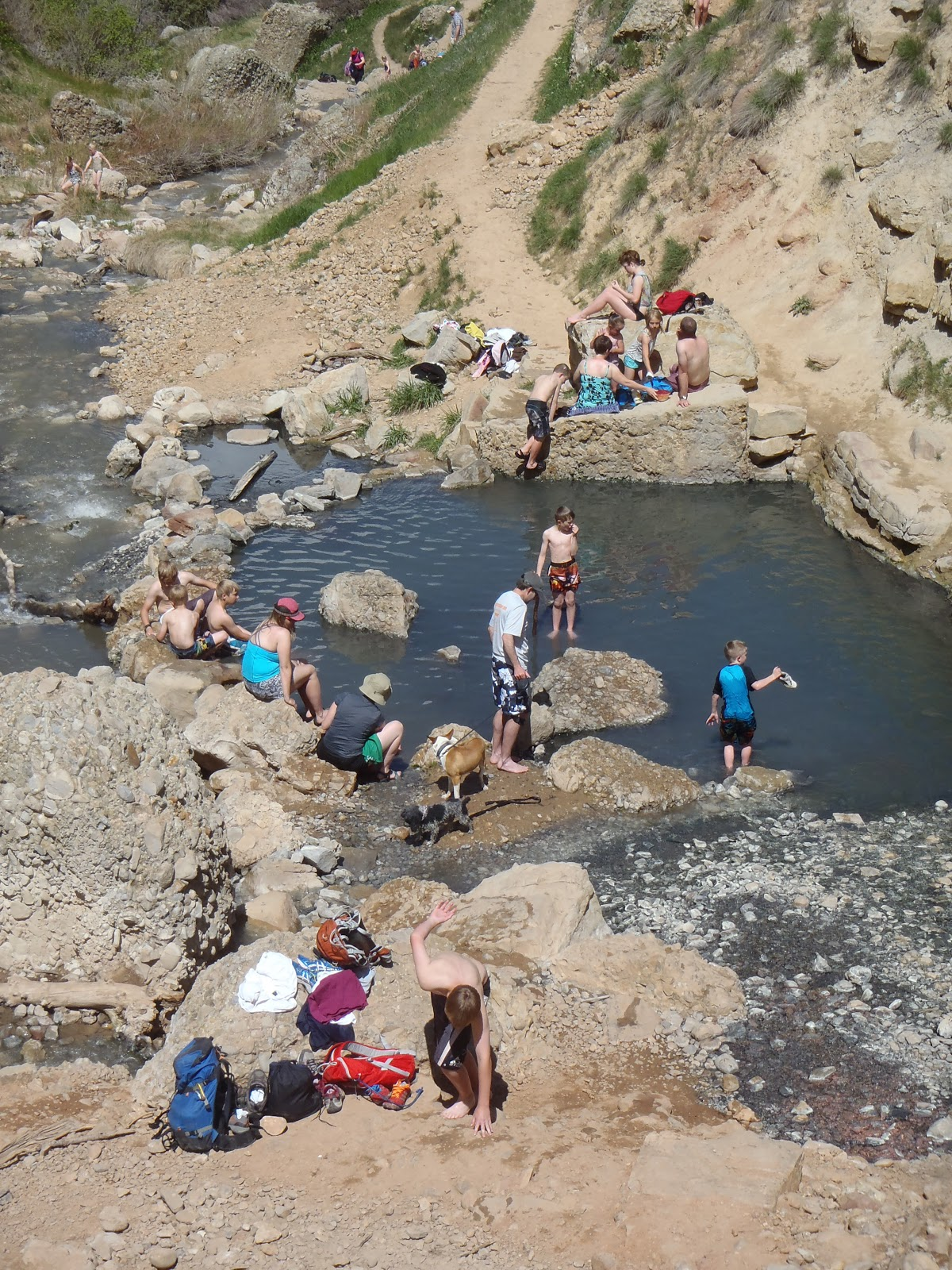 blog me fit  fifth water hot springs hike