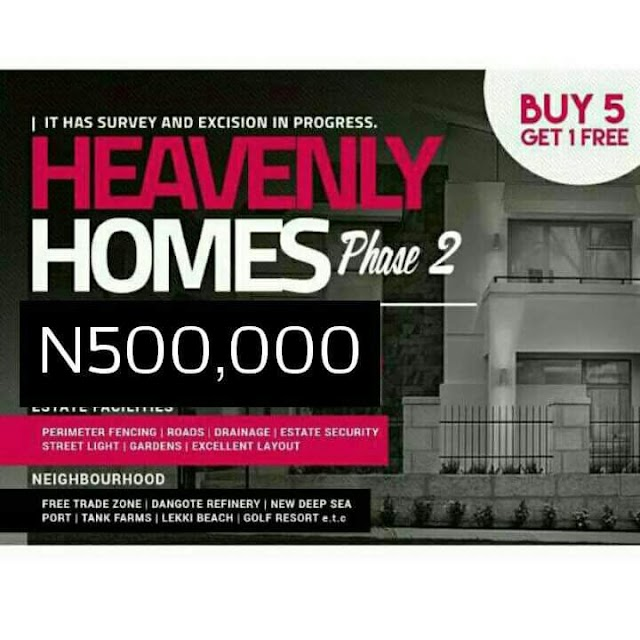 HEAVENLY HOMES ESTATE PHASE 2 (SOLD OUT)
