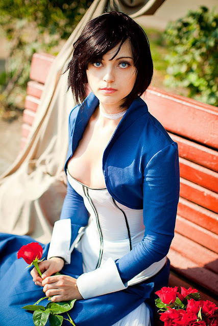 Elizabeth cosplay from Bioshock Infinite