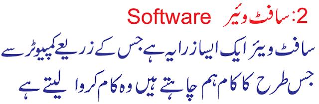 computer about urdu