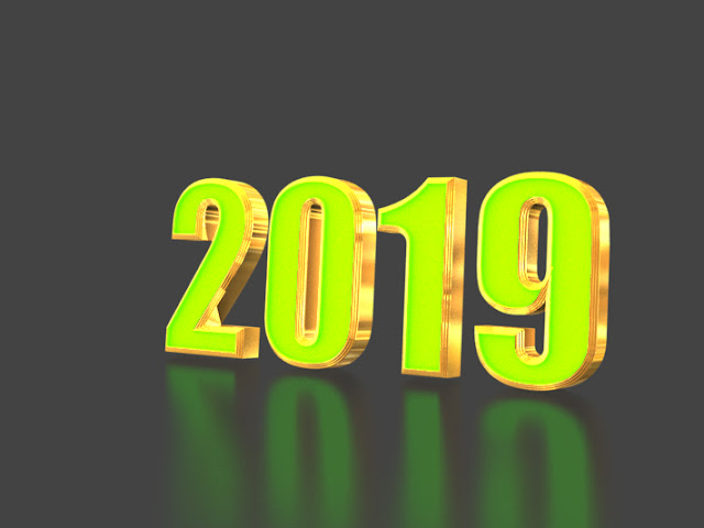 2019 new year 3d hd images