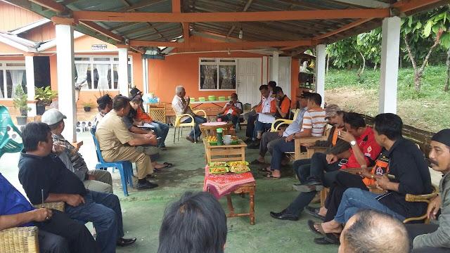 Pengurus ORARI Sumsel Silaturahmi Dengan pengurus ORARI Bersama Lsm IPSW dan Wartawan Kota Pagaralam