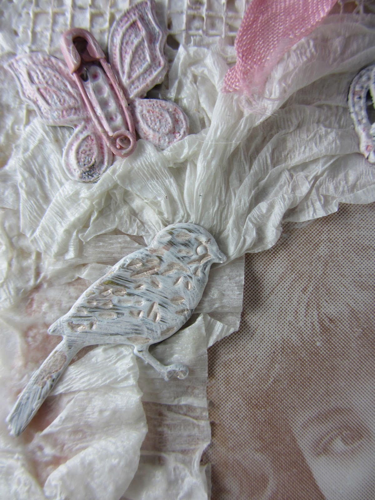 Scraps From A Broad Stampsmith Shabby Canvas