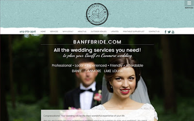 Willow Web Weavers: Website for BanffBride.com done!
