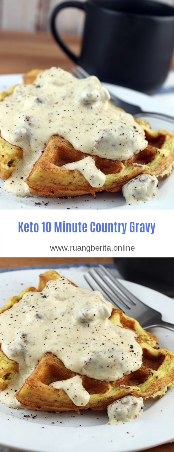 Keto 10 Minute Country Gravy