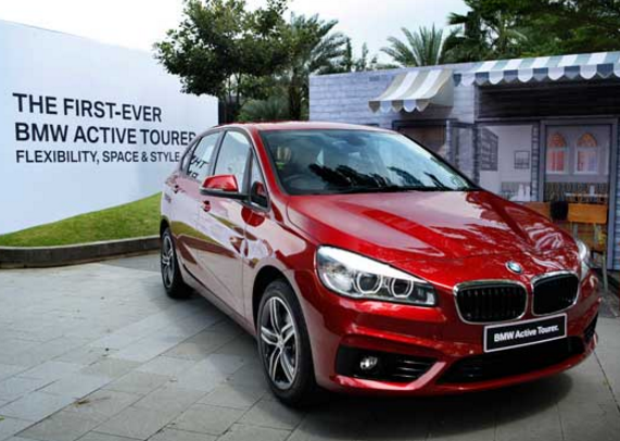 BMW 218i Active Tourer Test