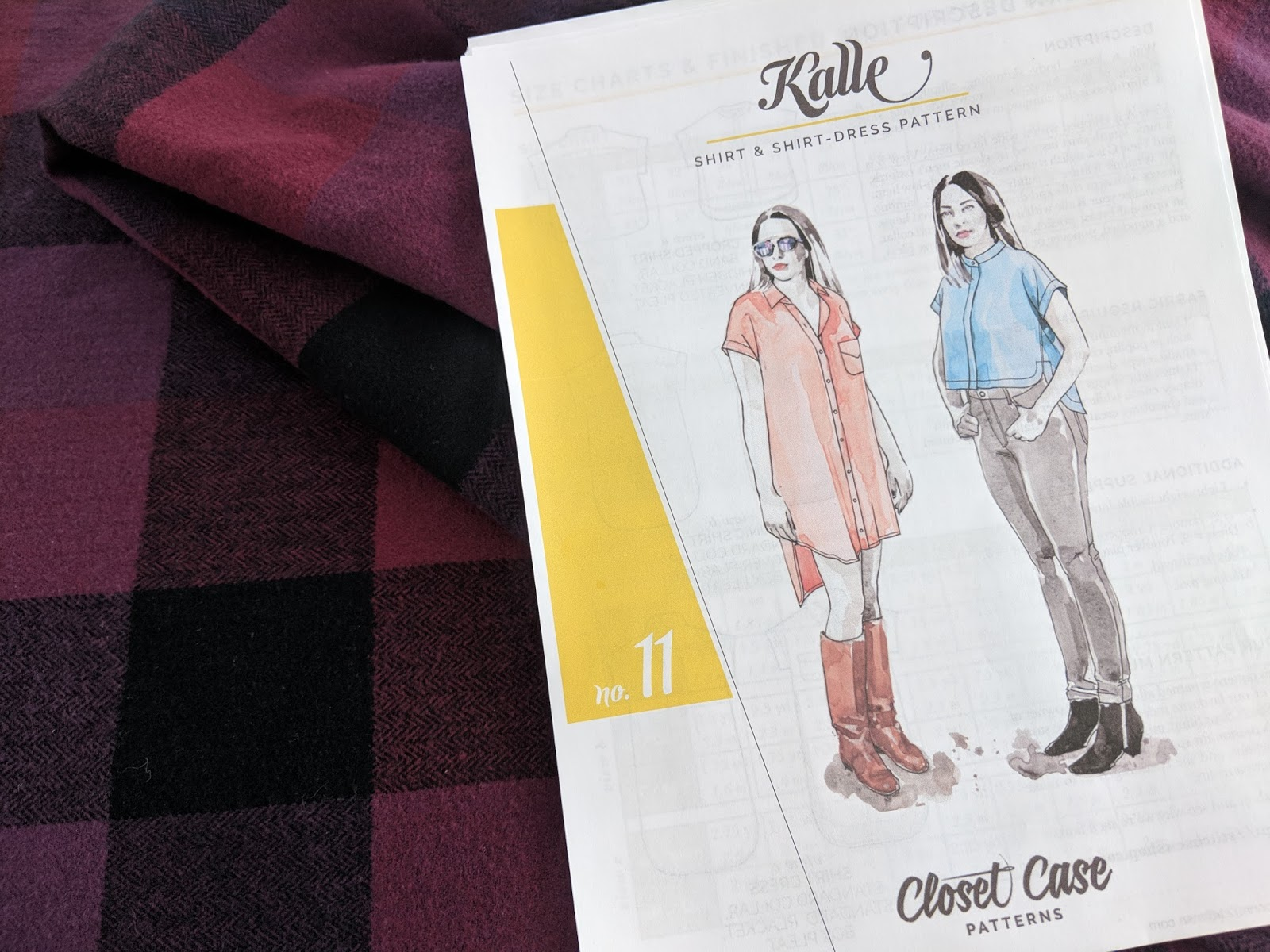 70c9e24ba7f The Kalle shirt and shirtdress pattern from Closet Case Patterns wasn t  exactly love at first sight for me. I ve never been a huge button up wearer  and it ...