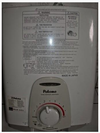water heater gas bandung