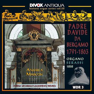 Davide Da Bergamo: Organ Music