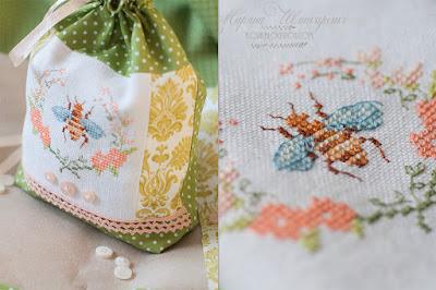 украшение дома своими руками, мешочек с вышивкой, хранение круп и мелочей