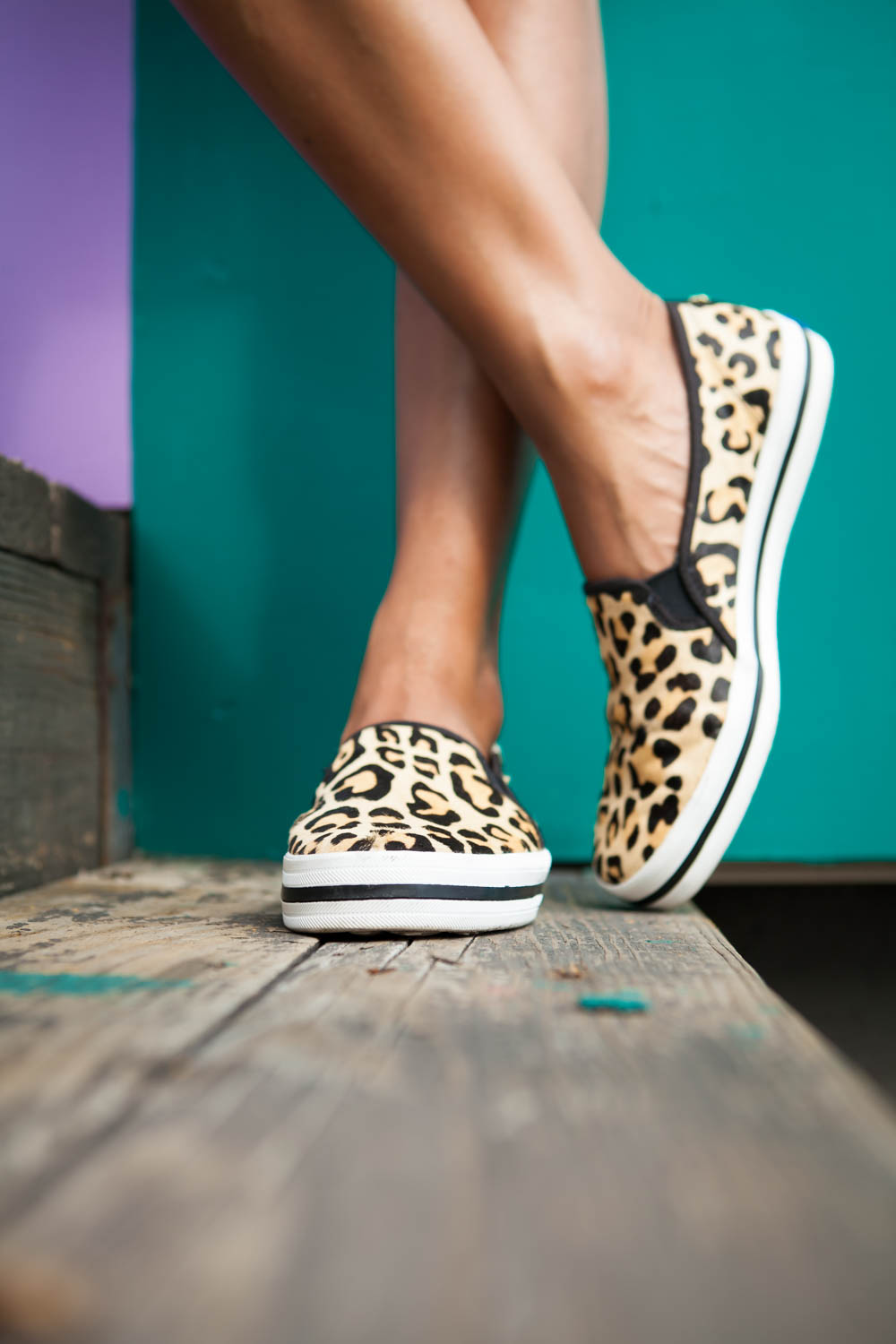 761ee2f2c679 If leopard isn t your thing the Keds x kate spade new york collection has  glitter slip ons too but there s something about leopard that just speaks  to me.