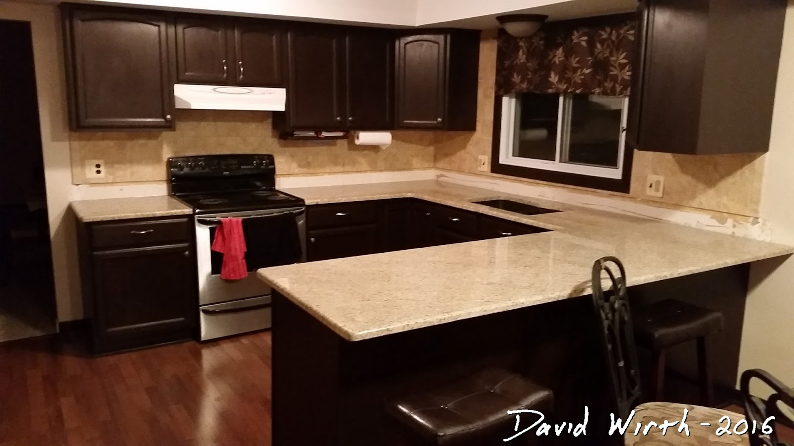 kitchen cabinets refinishing red table set - easy refinish and remodel