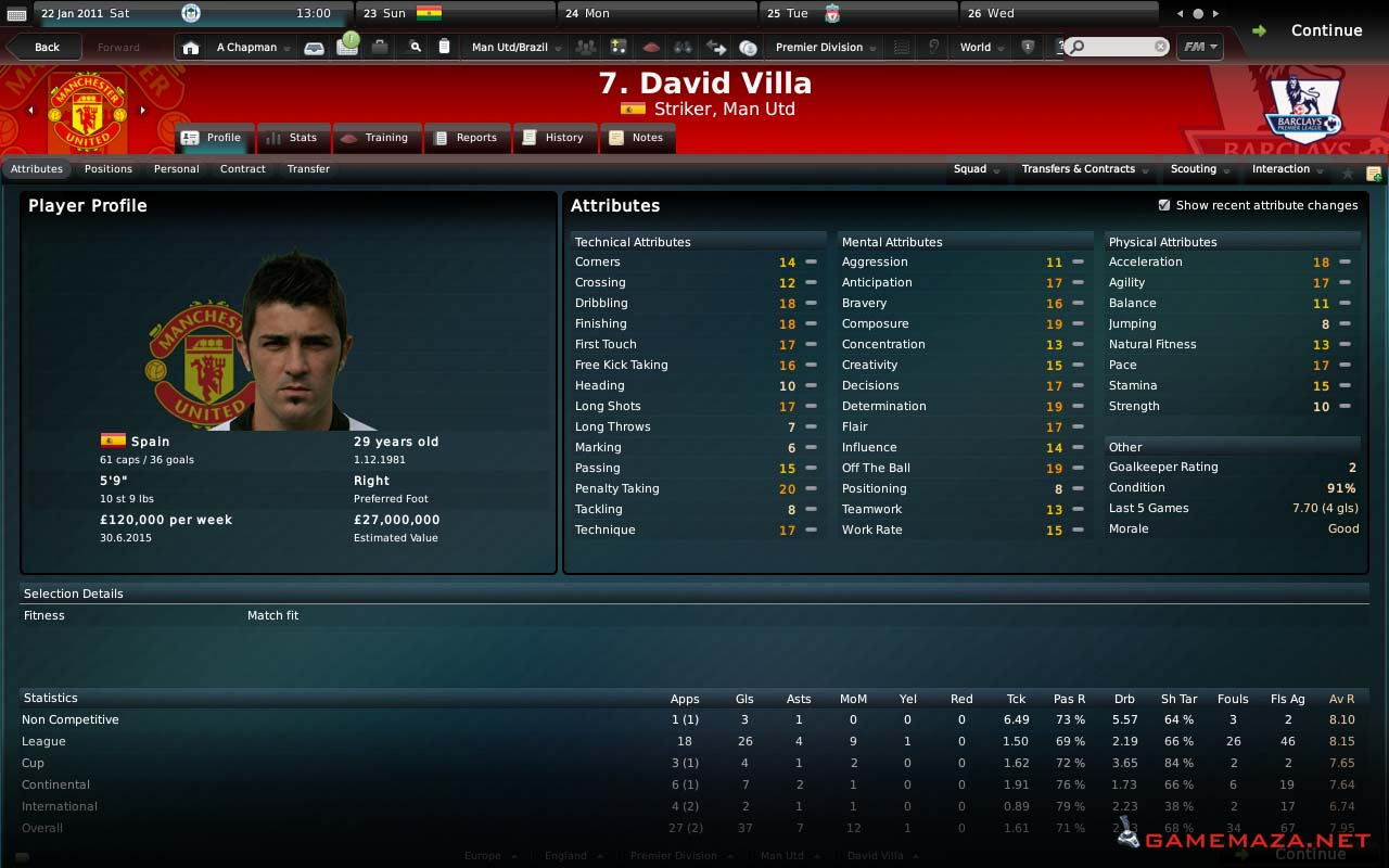 Five nice skins for football manager 2010 • fm stories.