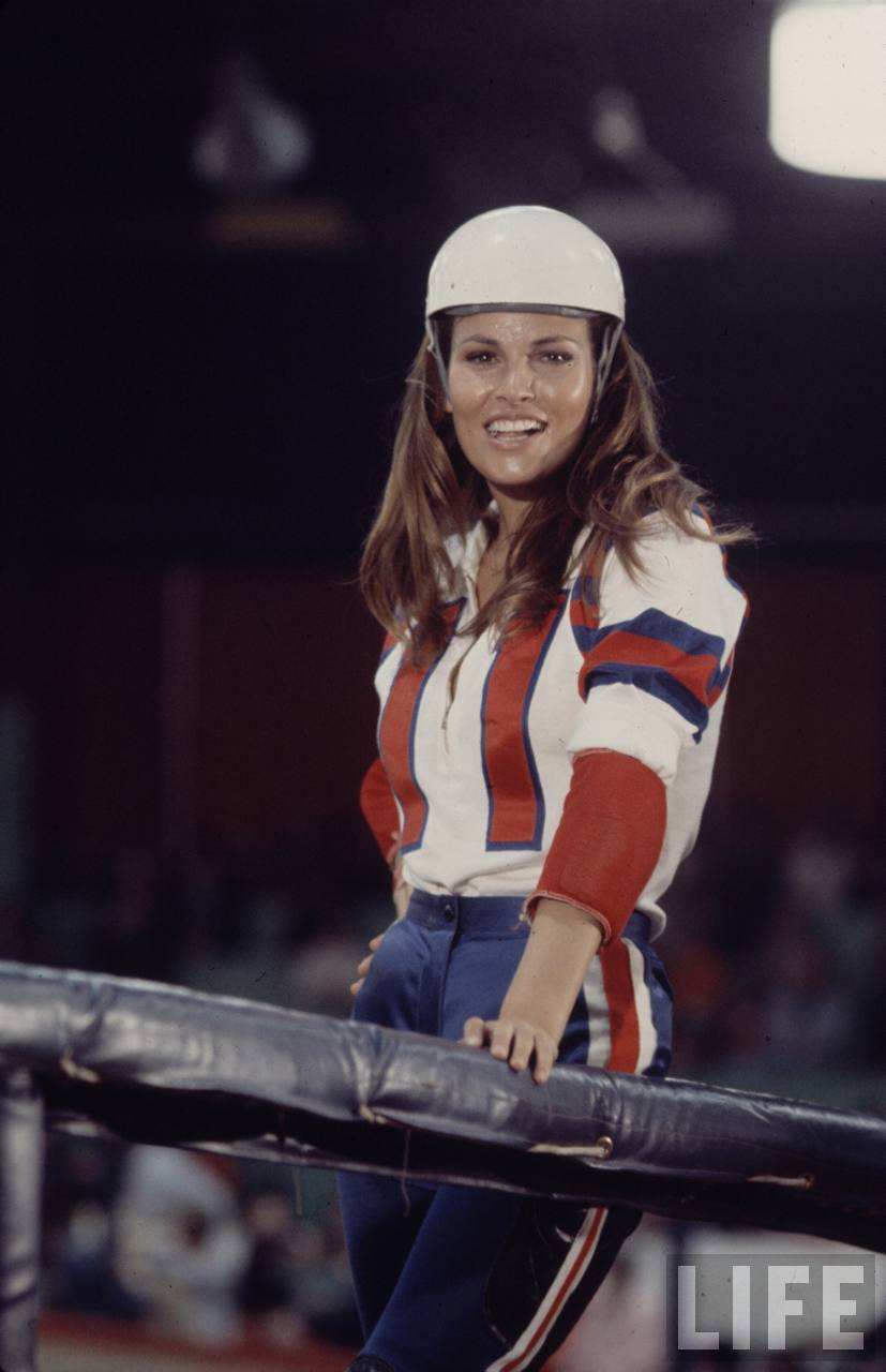 Rolling With Raquel Welch in 'Kansas City Bomber ...
