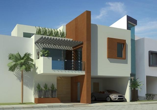 Colores para fachadas de casas modernas fachadas de for Casa minimalista que es