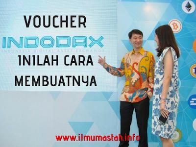 Cara Membuat Voucher Indodax dan Menggunakannya