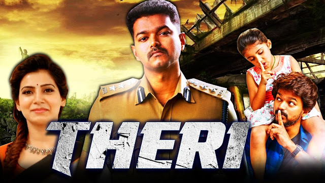 Theri (2017) Hindi Dubbed Movie Full WEBRip 720p
