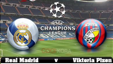 hosting live Viktoria Plzen vs Real Madrid - wiki-iptv