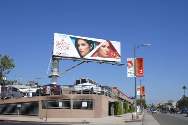 A Simple Favor billboard