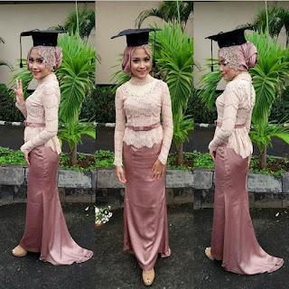 Inspirasi Kebaya Batik Indonesia Wisuda