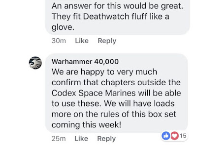 Primaris non Codex Marines Espaciales