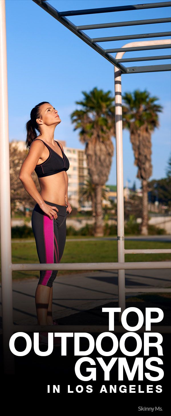 Top 5 Outdoor Gyms in Los Angeles
