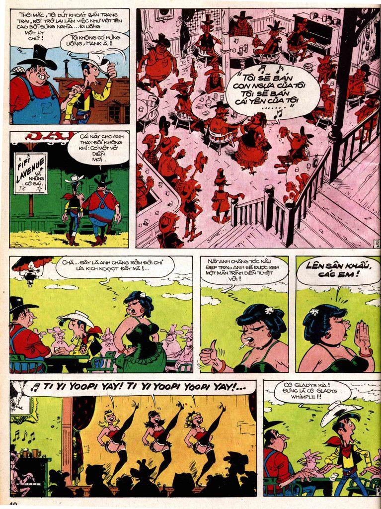 Lucky Luke tap 18 - ki si ao trang trang 38