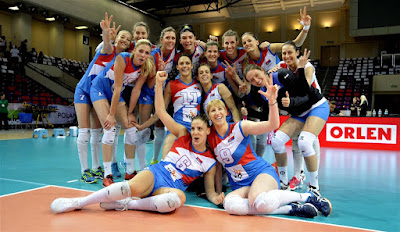 Sérvia garante lugar no Mundial de vôlei feminino 2018