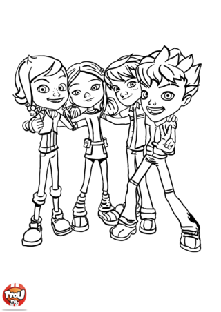 coloring pages of a | The Monster Buster Club Resources: Monster Buster Club ...