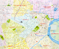 Mapa Saigon, Vietnam