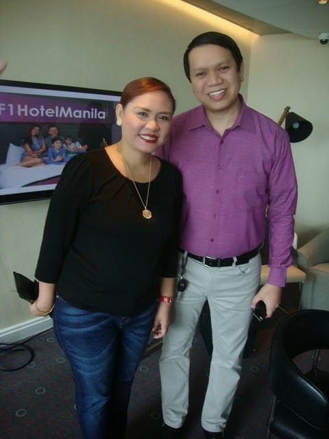 F1 HOTEL MANILA, TONY CO, CINDY BRUAL