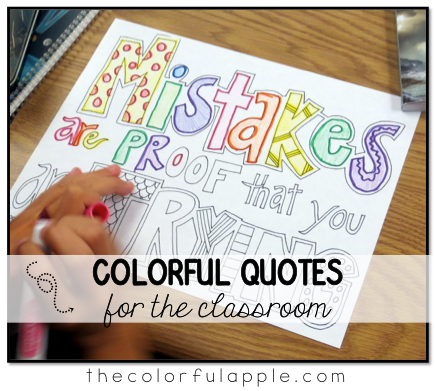 colorful quotes the colorful apple