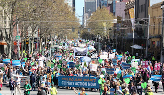 Climate March, Melbourne Australia (Credit: cleantechnica.com) Click to Enlarge.