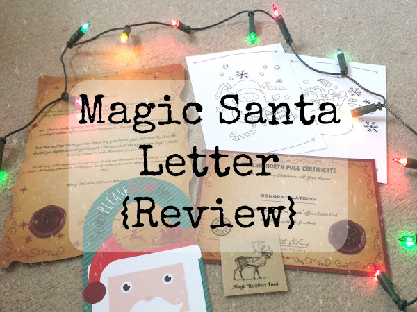 Magic Santa Letter - Personalised Letters From Santa {Review}