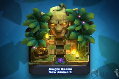 Jungle Arena Update Arena baru Clash Royale