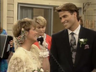 Marcy Darcy und Jefferson bei der Hochzeit
