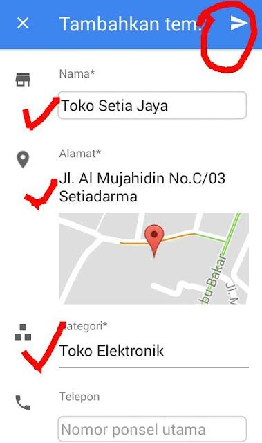 Cara Menambahkan Lokasi Baru Ke Google Maps