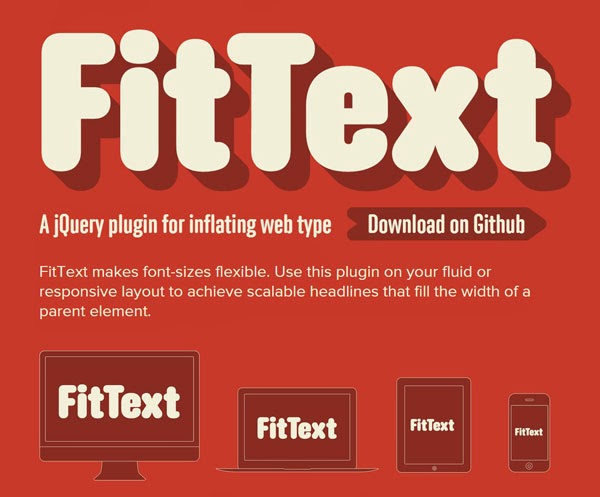Tools Web Design Professional FitText