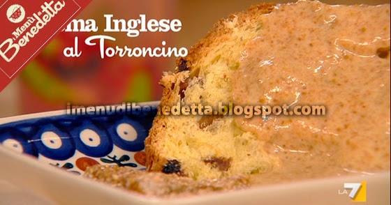 Crema inglese al torroncino la ricetta di benedetta parodi for Cucinare 8n inglese