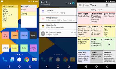 Aplikasi Pencatat Plaing Ringan dan Enteng Untuk Android