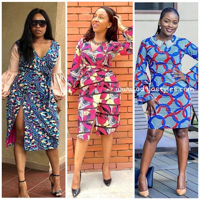 Creative Ankara Short Gown Styles 2018 For African Women #4
